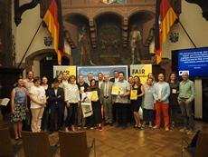 Auszeichnungszeremonie FAIRnünftiges Unternehmen