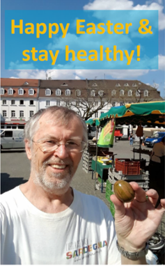Happy Easter & Stay Healthy!